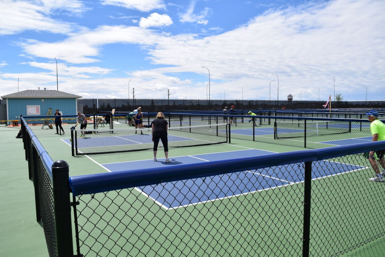 New Outdoor Pickleball Courts