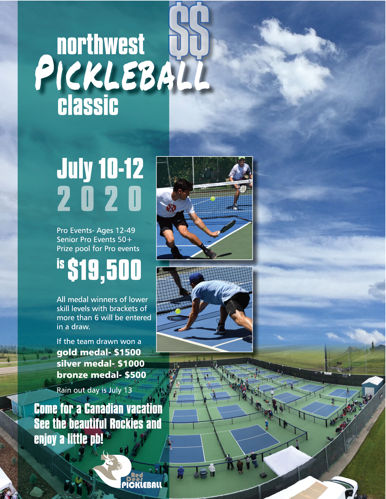 RDPC Northwest Pickleball Classic Event Flyer
