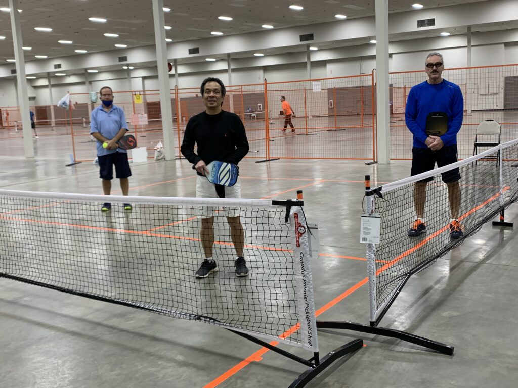 Pickleball Nets at the Westerner